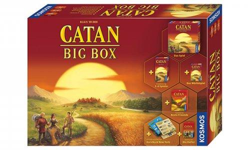 CATAN - BIG BOX 2019von Kosmos angekündigt