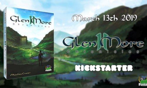 GLEN MORE II: CHRONICLES // Kickstarter Start + weitere Neuigkeiten