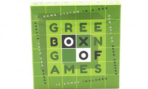 Green Box of Games // jetzt im Shop von Board Game Circus