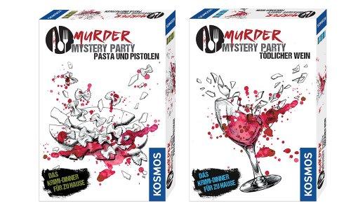Kochen // Murder Mystery Reihe von Kosmos angekündigt