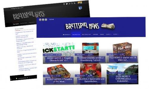 IN EIGENER SACHE // Brettspiel-News.de mit neuer Optik!