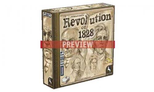 Revolution of 1828 erscheint im März 2019 bei Frosted Games