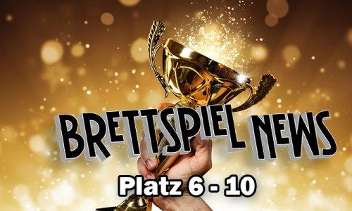 Brettspiel-News.de Spielepreis 2018 // Platz 6-10