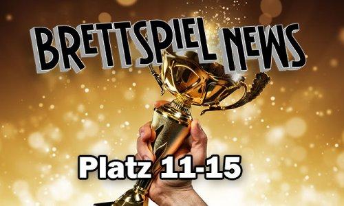 Brettspiel-News.de Spielepreis 2018 // Platz 11-15
