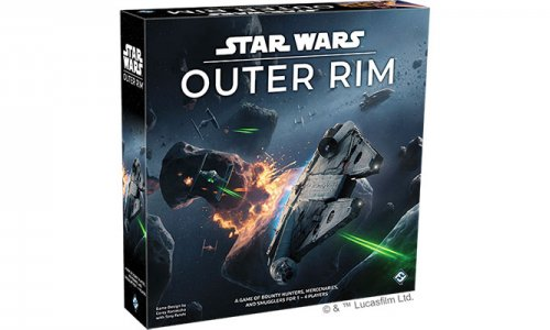 Asmodee Deutschland // Star Wars: Outer Rim ET im Mitte 2019