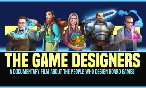 KICKSTARTER // The Game Designers Doku zu unterstützen