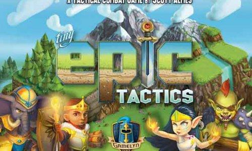 KICKSTARTER // Tiny Epic Tactics startet am 19.2.2019