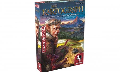 DER KARTOGRAPH // Neuheit von Pegasus Spiele