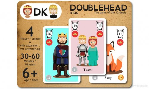 KICKSTARTER // Doublehead Kids ist gestartet