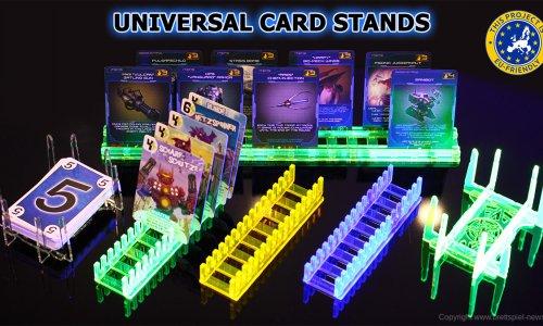 KICKSTARTER // Universal Card Stands gestartet