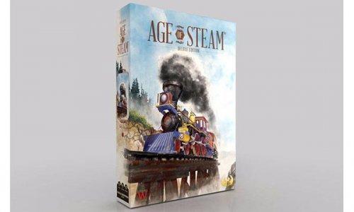 KICKSTARTER // Age of Steam Deluxe ist nun gestartet