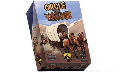 CIRCLE THE WAGONS // Erscheint 2019 bei Quined Games