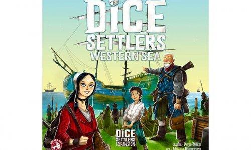 DICE SETTLERS // Erweiterung Western Sea erscheint 2019