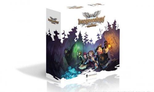 KICKSTARTER // Dungeonology: the expedition