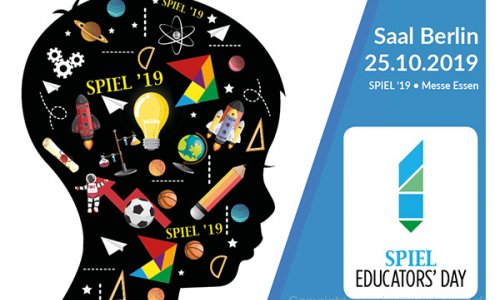 EDUCATORS' DAY // findet erstmals auf der SPIEL'19 statt