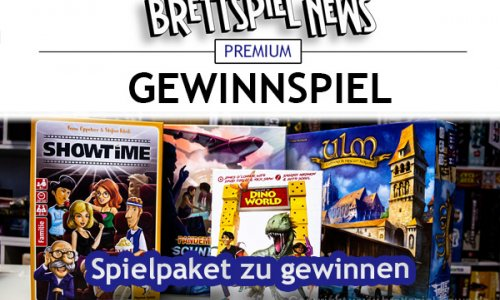 GEWINNSPIEL // Spiele-Bundle gewinnen