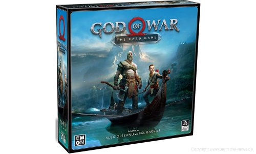 GOD OF WAR: THE CARD GAME // soll 2019 erscheinen