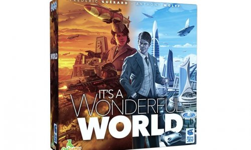 KICKSTARTER // It's a Wonderful World einen Blick wert