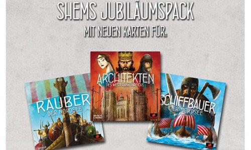 SCHWERKRAFT VERLAG // Shems Jubiläumspack verfügbar