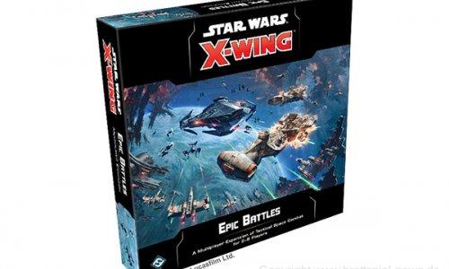 STAR WARS: X-WING // Epische Schlachten-Erweiterung angekündigt