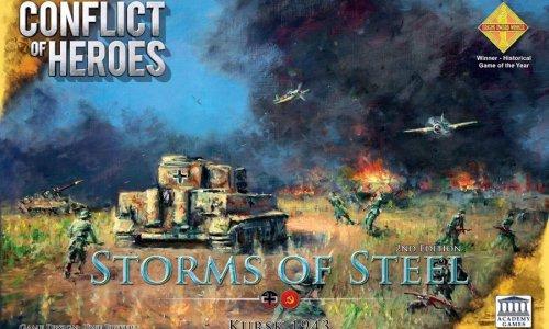 SPIELESCHMIEDE // Conflict of Heroes: Storms of Steel! – Kursk 1943