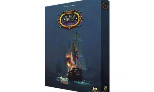 KICKSTARTER // Martin Wallace's Struggle of Empires Deluxe Edition