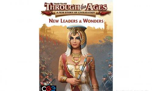 THROUG THE AGES // New Leaders & Wonders erscheint zur SPIEL'19