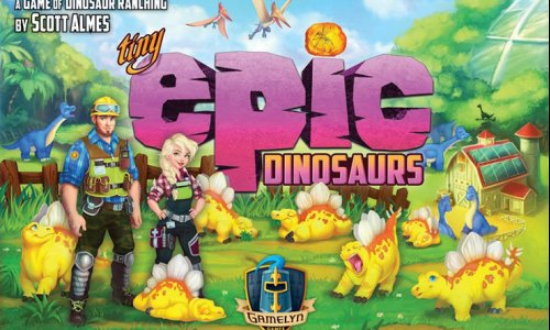 KICKSTARTER // Am Montag startet das neue Tiny Epic Dinosaurs