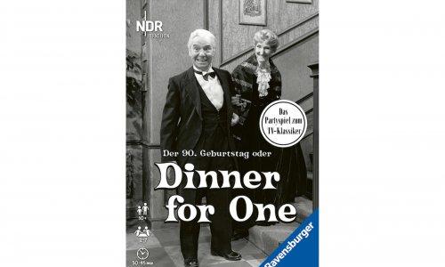 DINNER FOR ONE // das Partyspiel erscheint im Herbst 2020
