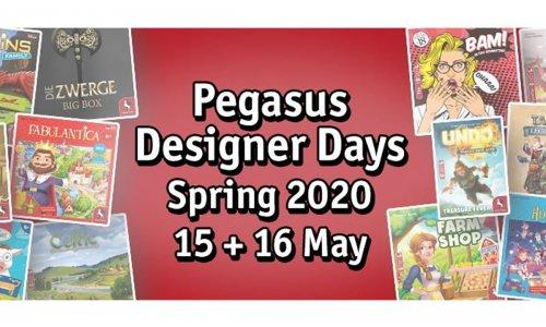 PEGASUS DESIGNER DAYS 2020 // Spieleautoren digital bewerben