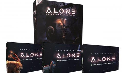 ALONE // Spiel und Erweiterungen zu kaufen