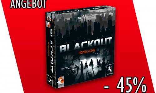 ANGEBOT // BLACK OUT HONG KONG für 24,95 € kaufen