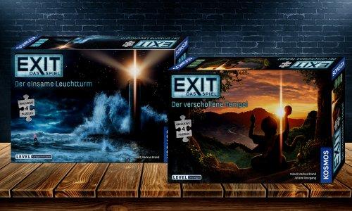 EXIT – DAS SPIEL // Puzzleabenteuer erscheinen im Mai 2020