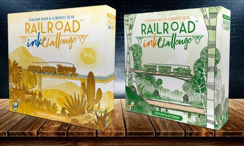 RAILROAD INK CHALLENGE // Edition Sonnengelb und Blattgrün