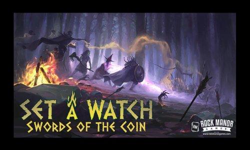 SPIELESCHMIEDE // SET A WATCH: Schwerter der Münze