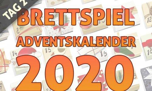 BRETTSPIEL-ADVENTSKALENDER 2020 //  TAG 2