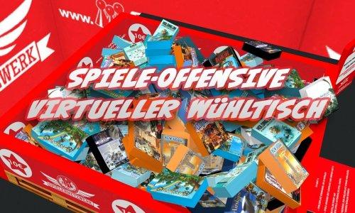 SPIELE-OFFENSIVE // Angebote ohne Ende