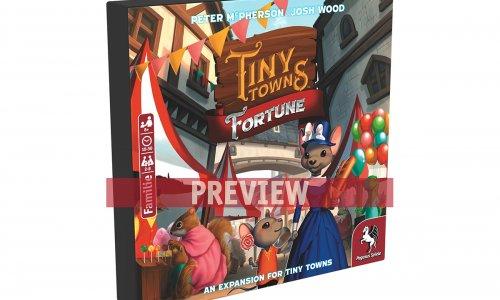 TINY TOWNS // Fortune Erweiterung erscheint Sommer 2020