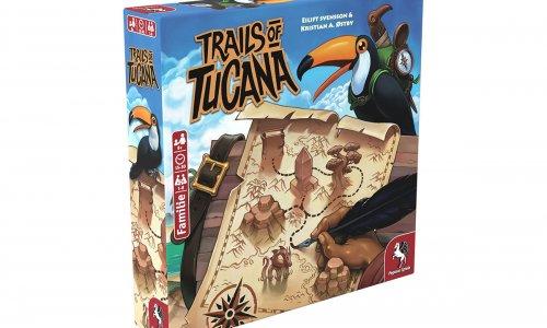 TRAILS OF TUCANA // Neuheit von Pegasus Spiele