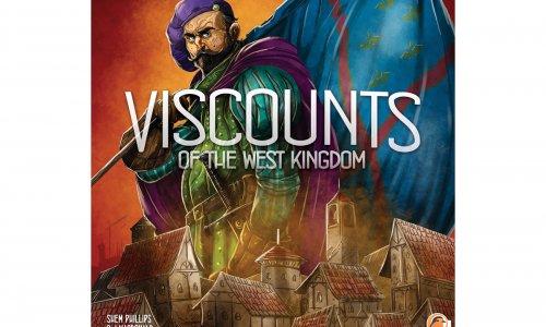 VISCOUNTS OF THE WEST KINGDOM // Von Garphill Games angekündigt