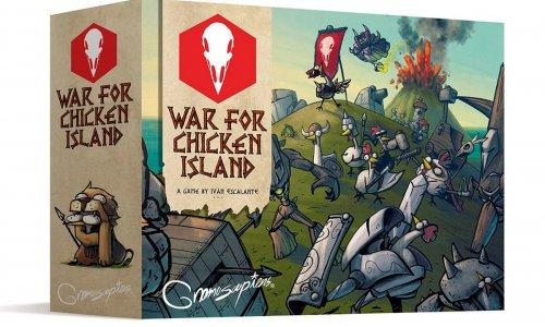 WAR FOR CHICKEN ISLAND // Soll bei TL-Games erscheinen