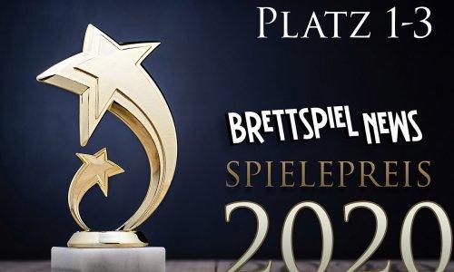 BSN SPIELEPREIS 2020 // PLATZ 1-3