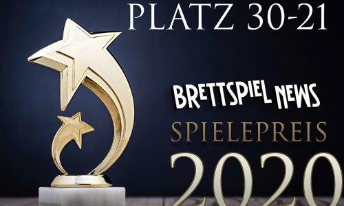 BSN SPIELEPREIS 2020 // Platz 30-21