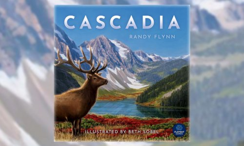 CASCADIA // Kickstarter wird ausgeliefert und bald im Handel?