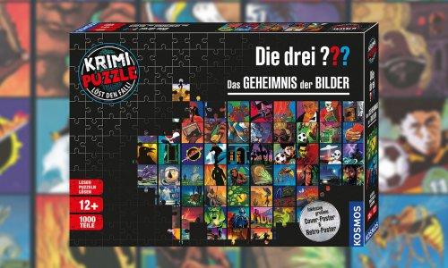 KRIMI-PUZZLE: DIE DREI ??? - DAS GEHEIMNIS DER BILDER // erscheint im September