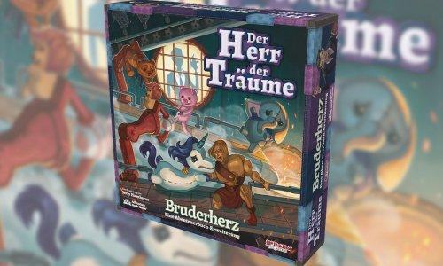 DER HERR DER TRÄUME – BRUDERHERZ // Erweiterung bald im Handel