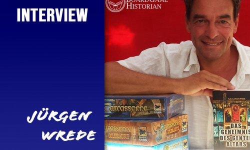 20 JAHRE CARCASSONNE // Klaus-Jürgen Wrede im Interview