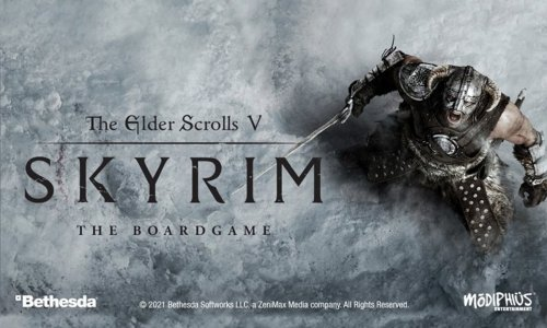 THE ELDER SCROLLS V: SKYRIM BOARD GAME // startet 2021 auf Gamefound