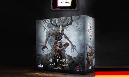 THE WITCHER: OLD WORLD // Kickstarter wird von Asmodee begleitet