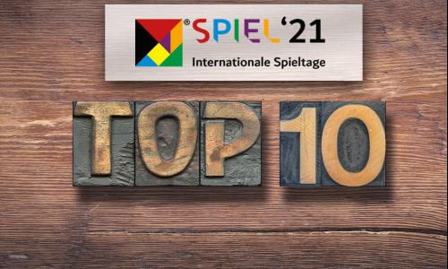 Top 10 | Spiele für die SPIEL'21